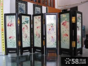 中式古典小屏风效果图
