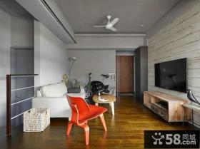 现代风装修客厅电视背景墙大全