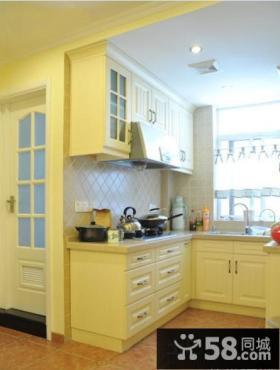 欧式风格厨房橱柜效果图大全