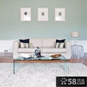 50平小户型装修效果图 简约小客厅装修