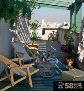 2013优质阳台花园设计效果图片欣赏