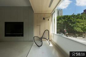 现代装饰阳台效果图欣赏
