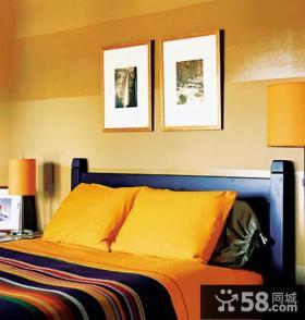 8万打造90平米田园卧室装修效果图大全2013图片