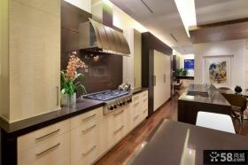 复式楼厨房装修效果图大全2012图片