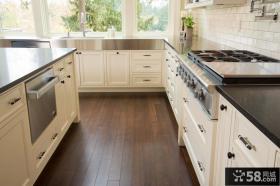 现代简约风格厨房装修效果图片大全