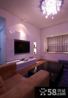 美式家居设计客厅电视背景墙