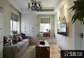 简单设计室内客厅电视背景墙欣赏