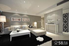中式小户型客厅装修效果图2013