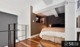 时尚复式楼卧室装修效果图
