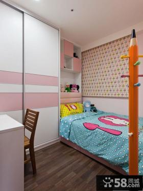 时尚7平米儿童房间色彩搭配效果图