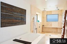 简约风格装修设计卫生间图片