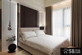 时尚现代简约卧室布置图
