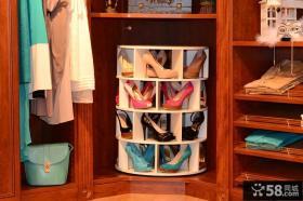 旋转鞋柜设计图