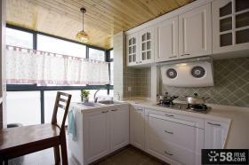 阳台厨房设计效果图欣赏