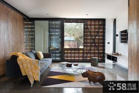 现代简约设计复式家居装修设计效果图片