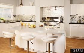 简约风格别墅长厨房装修图片欣赏