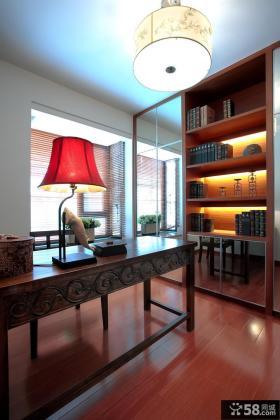 雅致东南亚风格书房装修