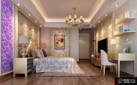 欧式风格主卧室效果图