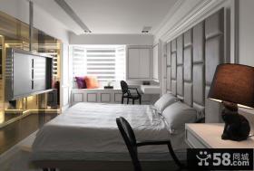 现代时尚奢华卧室吊顶