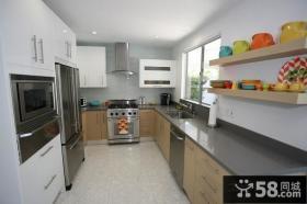 两室两厅装修效果图 家庭厨房装修效果图