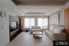 简约装修设计室内客厅电视背景墙图