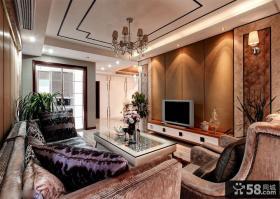 欧式小别墅客厅装修效果图