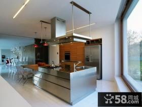 清新又不失庄重的现代风格整体橱柜装修效果图大全2012图片