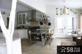 90平米小户型北欧小清新厨房装修效果图