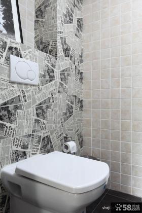 小复式楼装修效果图厕所装修效果图