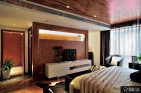 北欧设计卧室电视背景墙图片大全