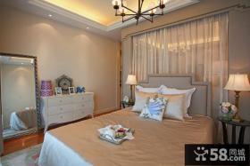 欧式风格50平米小户型卧室装修效果图