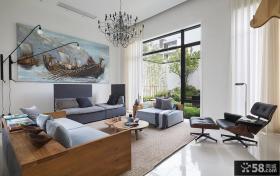 北欧风格复式楼家庭装修效果图大全