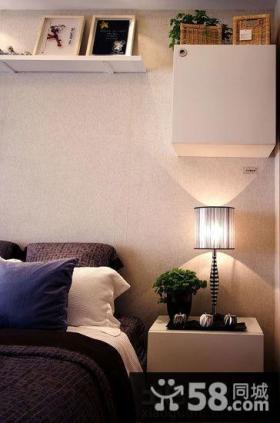 卧室床头灯具设计效果图片