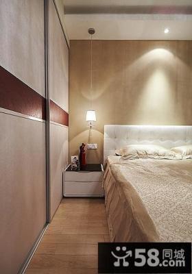 美式简约风格装修卧室设计