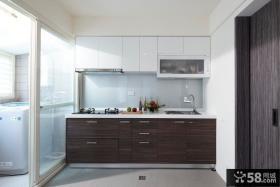 美式风格厨房隔断门图片大全