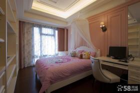 简欧风格甜美卧室设计图大全