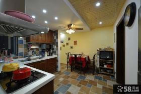 美式乡村8平米厨房