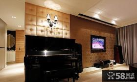 现代家装电视背景墙效果图