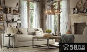 欧式古典客厅装修效果图欣赏