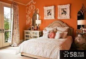 欧式风格卧室颜色装修效果图
