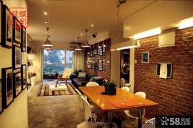 复式楼餐厅装修效果图-蝶影设计