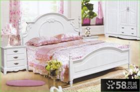 欧式风格床图片
