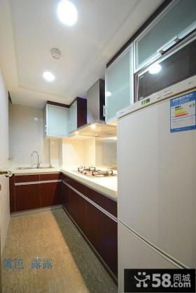 长方形小户型厨房装修设计