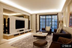 欧式风格农村豪华客厅装修设计