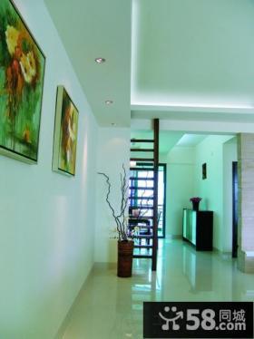现代风格家庭玄关装饰画图片