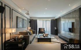 中式简约风格二居室设计