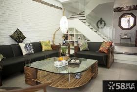 个性中式复式家居装修设计
