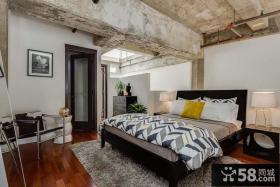 后现代风格复式卧室装修设计图片