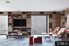巴西清爽复式公寓客厅装修效果图大全2012图片