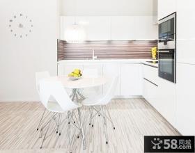 开放式厨房餐厅一体设计效果图欣赏
